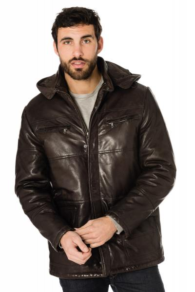 Veste Homme Daytona JONES SHEEP AOSTA R/BROWN