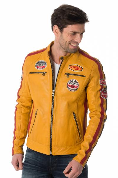Blouson Homme Daytona OLIVER SHEEP ATLAS VEG SOLANO YELLOW