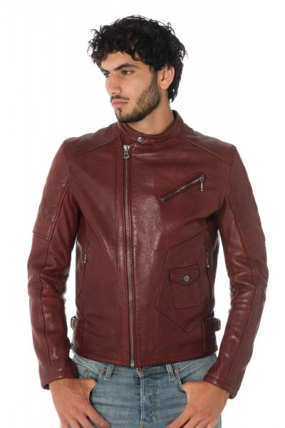 Blouson Homme Daytona  GREENWISH COW VEG RED