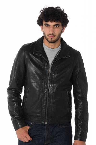 Blouson Homme Daytona GLOBE SHEEP BLACK ZZ