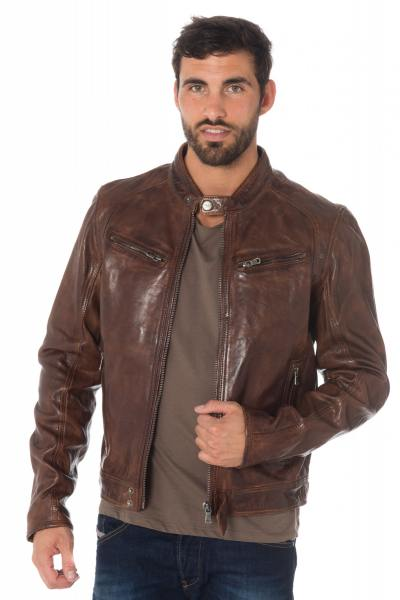 Blouson Homme Daytona DUSTIN SHEEP TIGER TAN