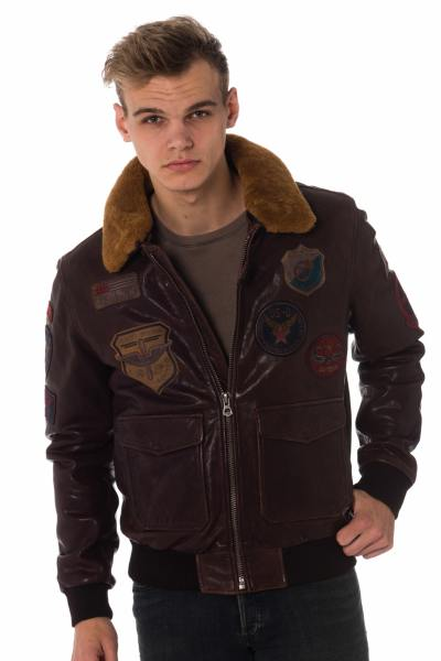 Blouson Homme Daytona MYTHIC SHEEP WOODLAND DARK BROWN