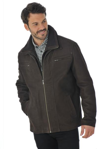 Blouson Homme Daytona ARAGON + IC COW MADISON BROWN