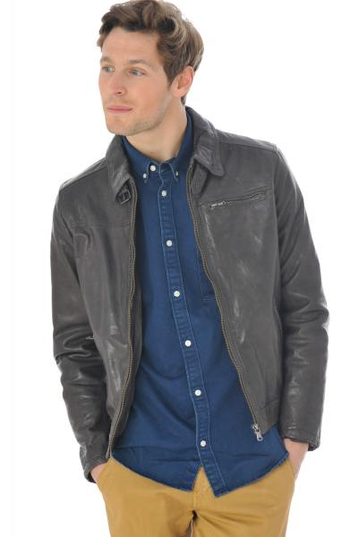 Blouson Homme Daytona MAJOR SHEEP TIGER DARK STONE