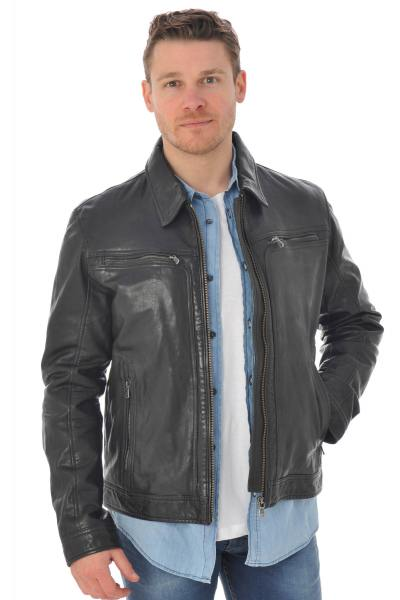 Blouson Homme Daytona WASHINGTON SHEEP TIGER BLACK