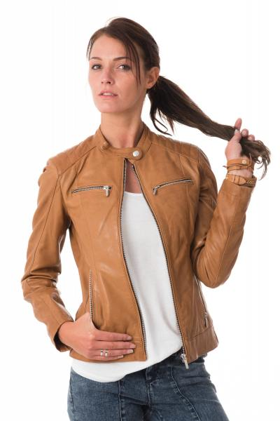 Veste cuir femme reims