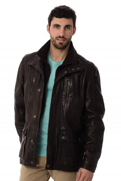 Veste Homme Daytona RUSSEL IC SHEEP TIGER REDDISH BROWN
