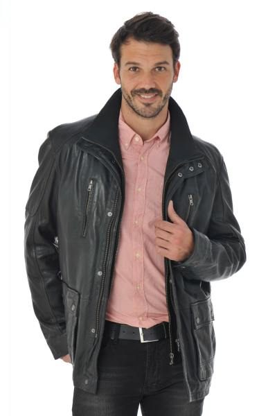 Veste Homme Daytona RUSSEL IC SHEEP TIGER BLACK
