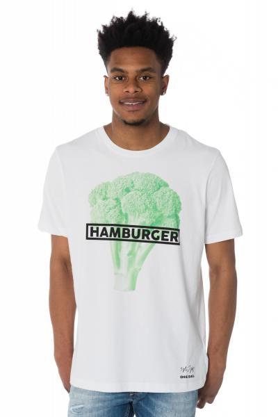 """T-Shirt """"Hamburger"""" Diesel"""