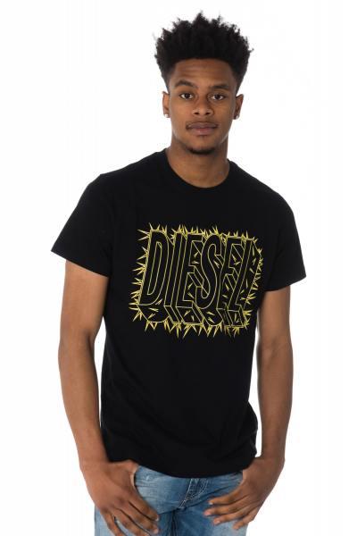 schwarzes Herren-T-Shirt Diesel              title=