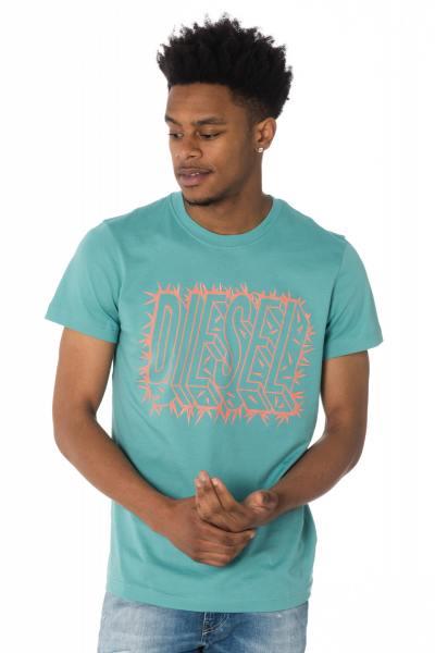 türkises Diesel-T-Shirt