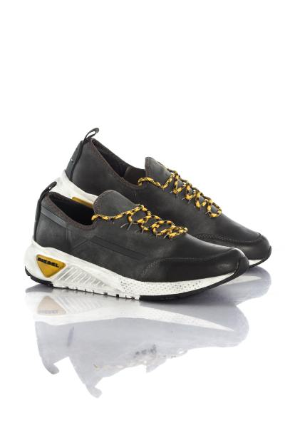 Baskets homme anthracite Diesel              title=