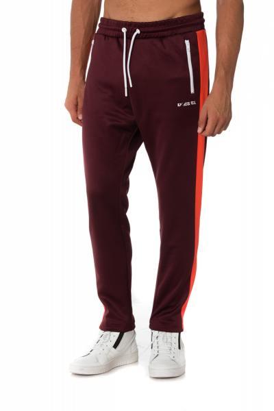 Pantalon de jogging Diesel bordeaux              title=