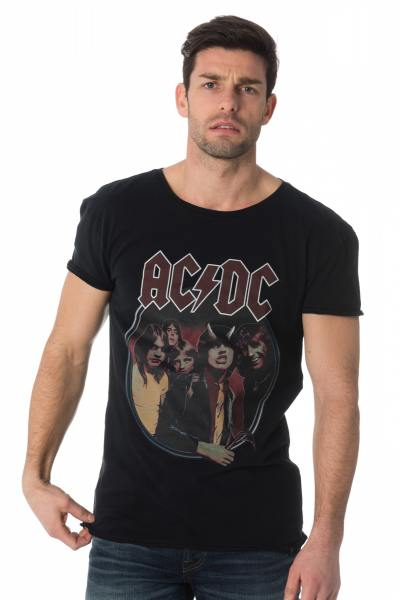 Tee Shirt Homme Gipsy 181B2T009 ACDC BLACK