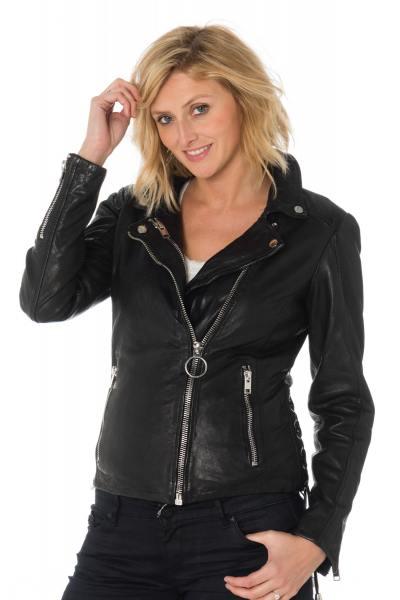 Blouson Femme Gipsy TUVA SF LVW BLACK