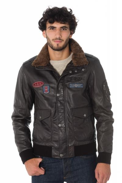Blouson Homme Gipsy CRUISE DARK BROWN