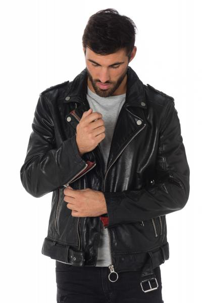Blouson Homme Gipsy CAMEO ACDC SF BLACK