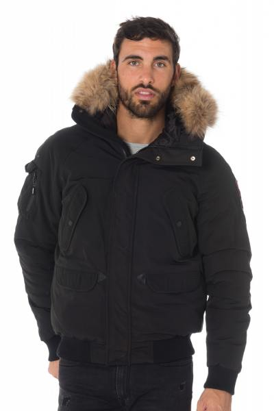Blouson Homme Helvetica ANCHORAGE MEN RACCOON BLACK