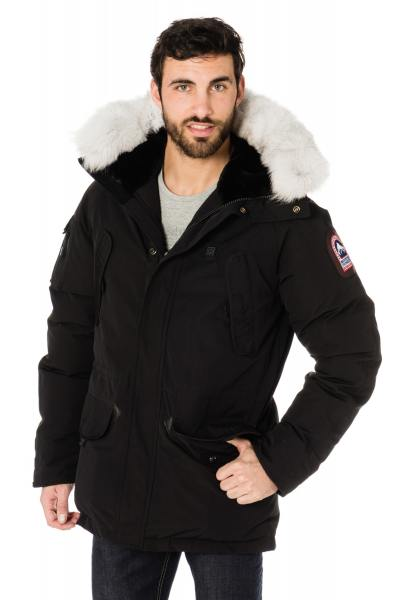 Veste Homme Helvetica EWARM EXPEDITION MEN BLACK EDITION COL BLANC
