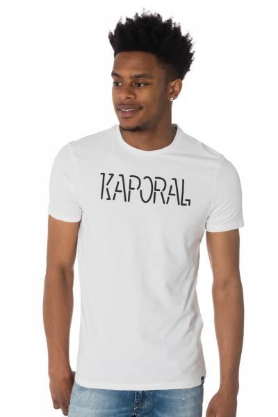Tee Shirt Homme Kaporal HELLO WHITE