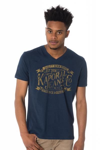 Tee Shirt Homme Kaporal TWIK BLUE US