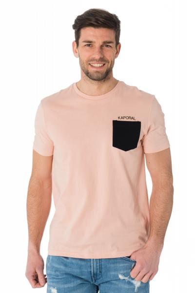 Tee Shirt Homme Kaporal HAYGO FLAMINGO