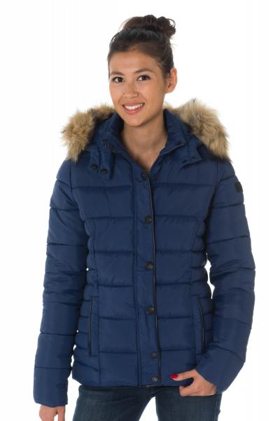 Marineblaue Damen Steppjacke von Kaporal              title=