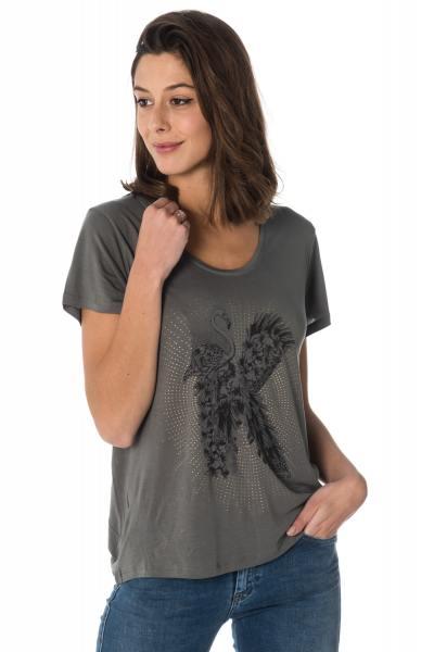 Tee Shirt Femme Kaporal HELLA ARGIL