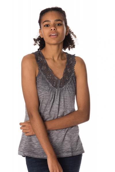 Tee Shirt Femme Kaporal IMAN GREY