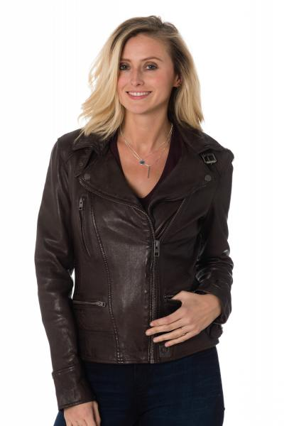 Blouson Femme Oakwood VIDEO MARRON 502
