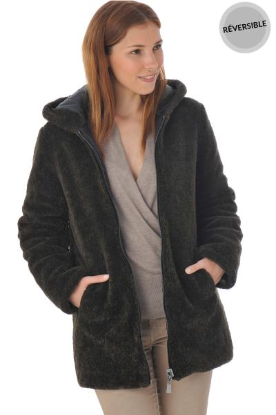 Manteau réversible femme Oakwood              title=