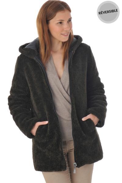 Manteau réversible femme Oakwood
