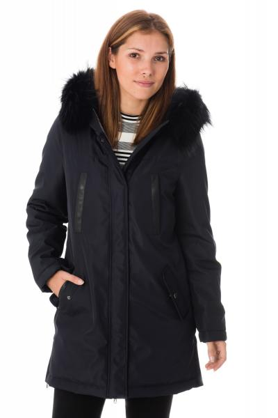 manteau  long avec capuche fourrure Oakwood              title=