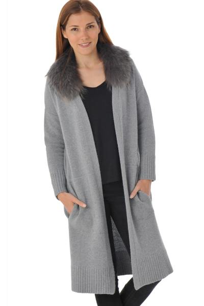 Veste Femme Oakwood OCTOBER GRIS CLAIR 528