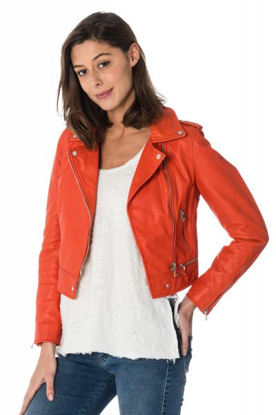 Blouson Femme Oakwood YOKO FUN ORANGE 549