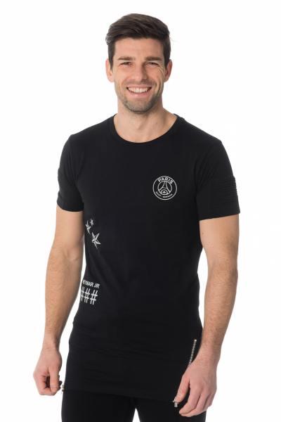 Tee Shirt Homme Paris Saint Germain D SOUTIO NOIR NEYMAR