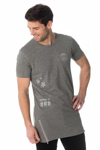 Tee-shirt long Neymar Jr gris              title=