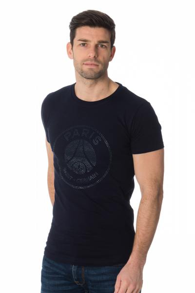Tee Shirt Homme Paris Saint Germain T-SHIRT D YOHAN BLEU PSG