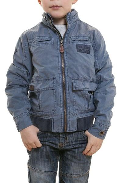 Blouson enfant textile Pepe Jeans bleu              title=