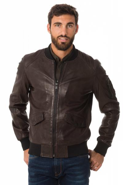 Blouson Homme Redskins BOND BENTLEY CHOCOLAT