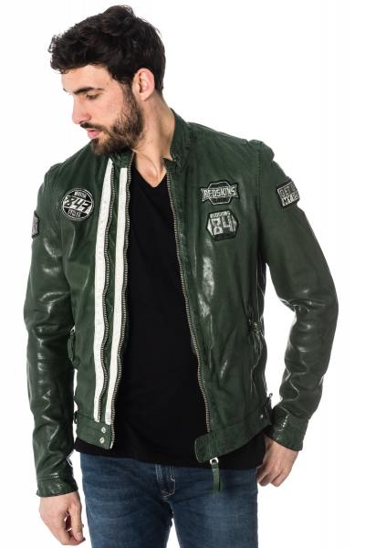 Blouson Homme Redskins REESE CALISTA RACING GREEN ICE