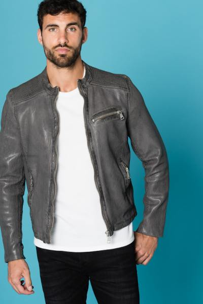 soldes blouson cuir mode homme 2019 veste tendance. Black Bedroom Furniture Sets. Home Design Ideas