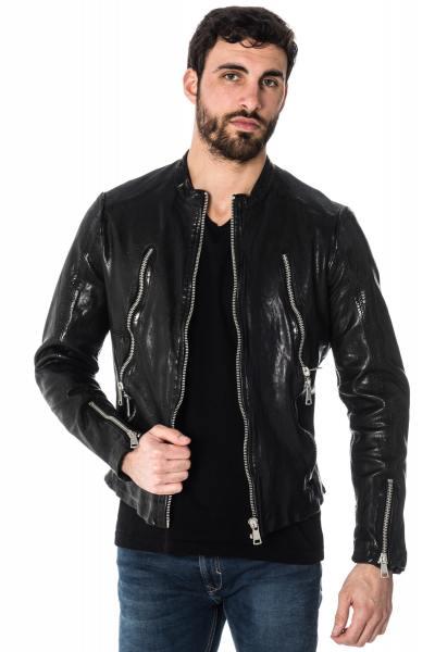Veste en cuir homme 100 euros