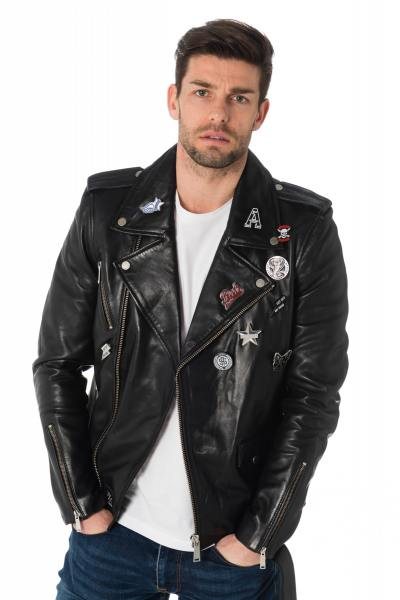 Blouson Homme Redskins WILKINS GETTY BLACK