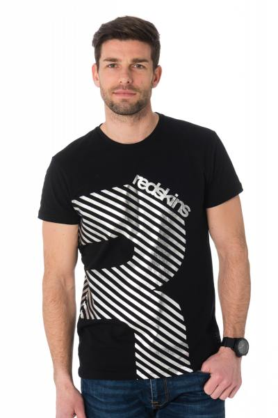 Tee Shirt Homme Redskins STRIPES HANDY BLACK