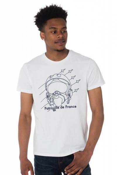 Tee-shirt blanc Patrouille de France              title=