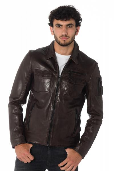 Blouson Homme Redskins BERING BENTLEY CHOCOLAT