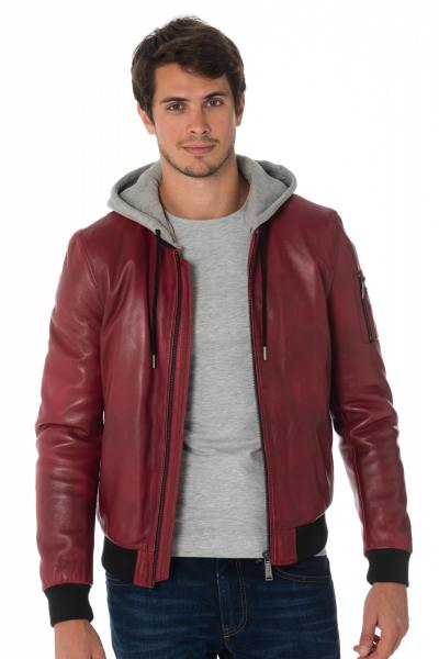 Blouson Homme Redskins SELLERS CASTING RED H18