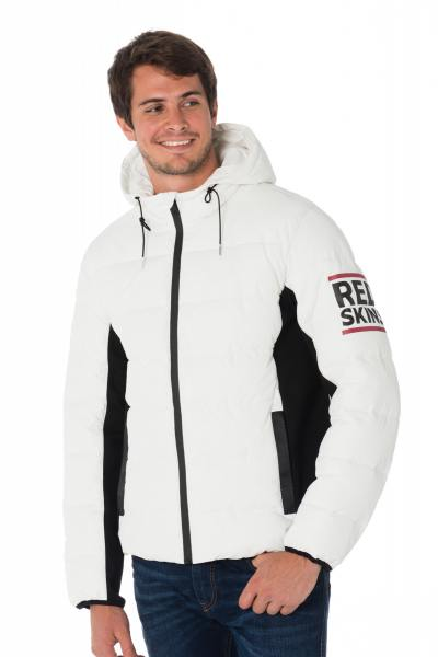 Blouson Homme Redskins SLOW DELTA OPTICAL WHITE H18