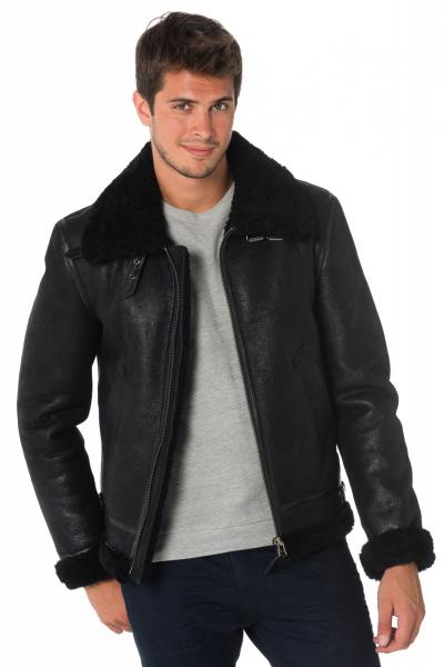 Blouson Homme Redskins REAGAN QUEENSTOWN BLACK/BLACK H18